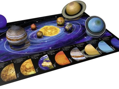 Ravensburger 3D Solar System Puzzle teaches your kid the planets