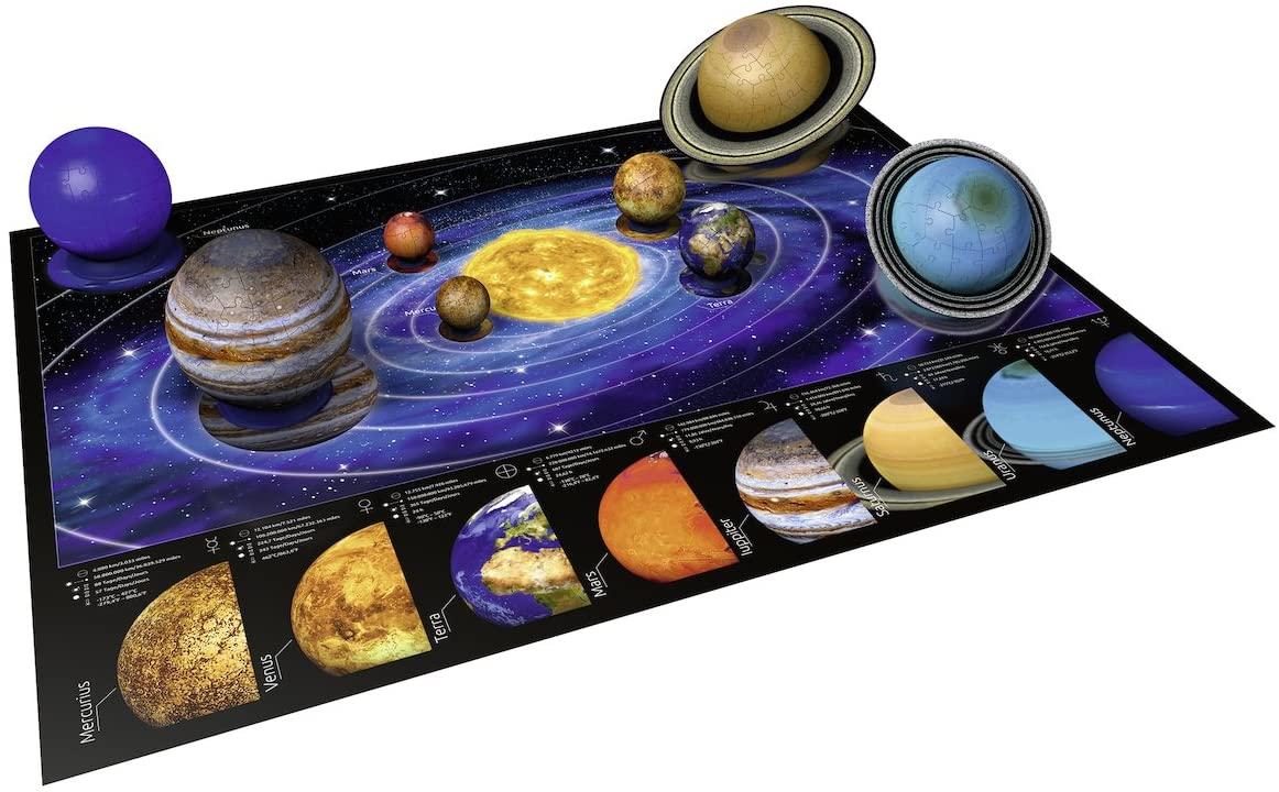3D Solar System Puzzle