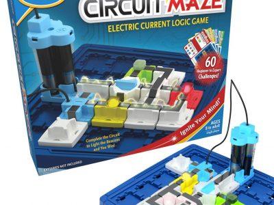 ThinkFun Circuit Maze Electric Current Logic Game Board