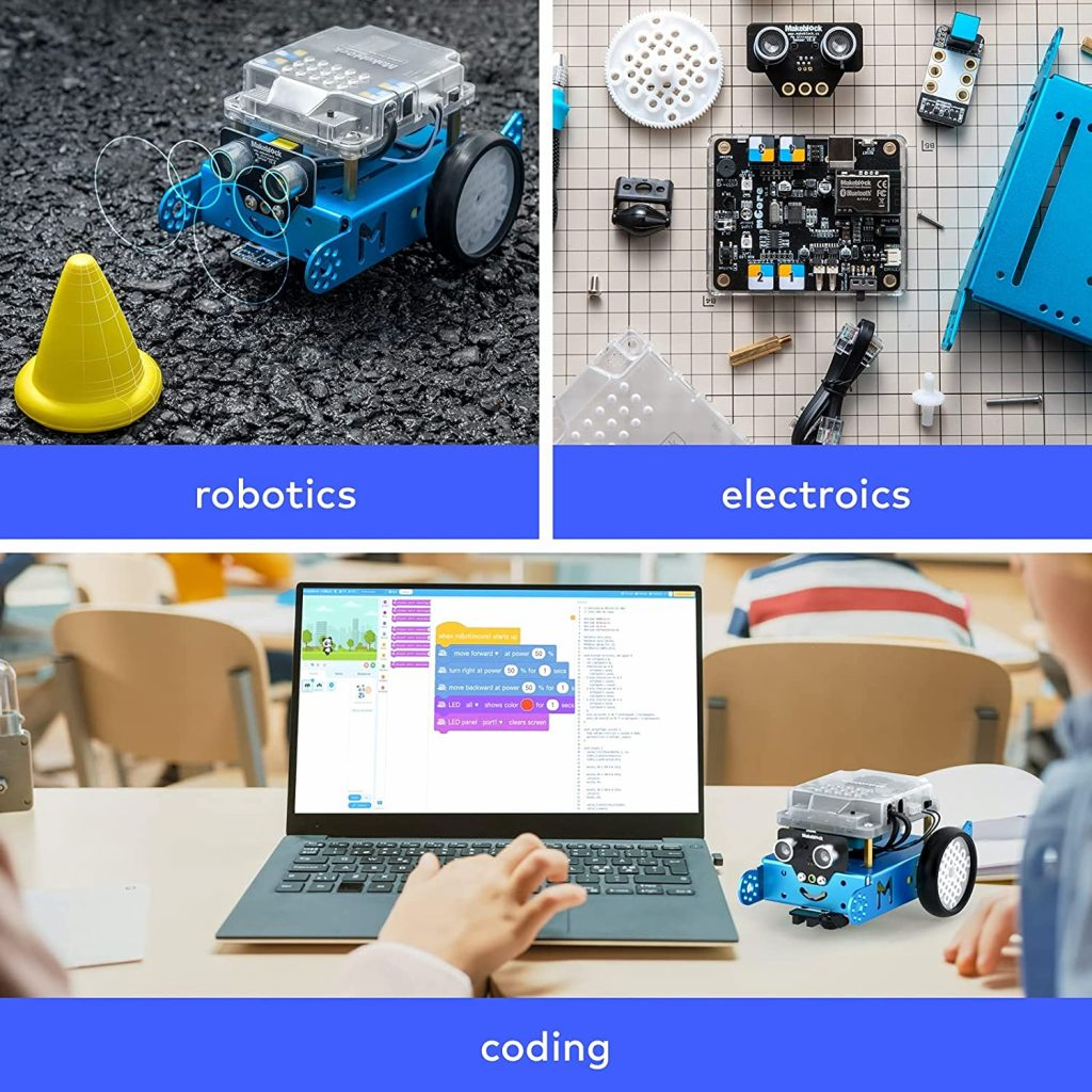 Different parts of a robot