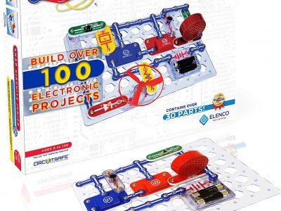 Elenco Snap Circuits Jr. SC-100 Electronics Exploration Kit