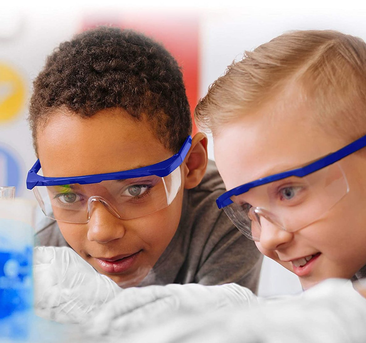 Kids experimenting