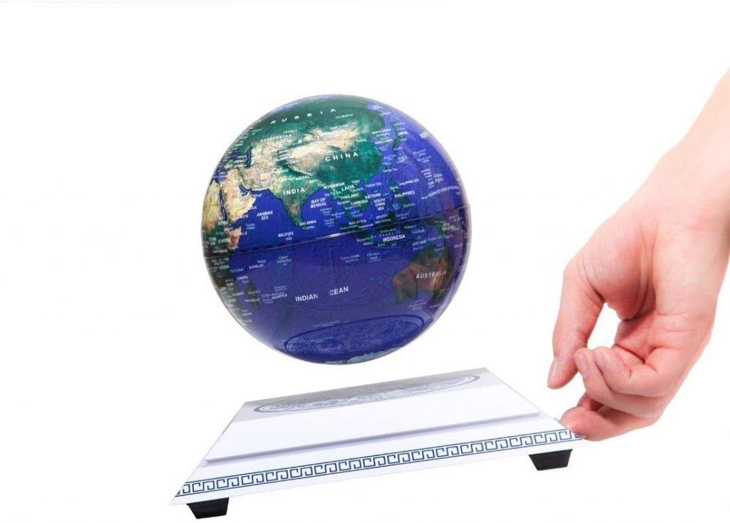 Levitating World Globe