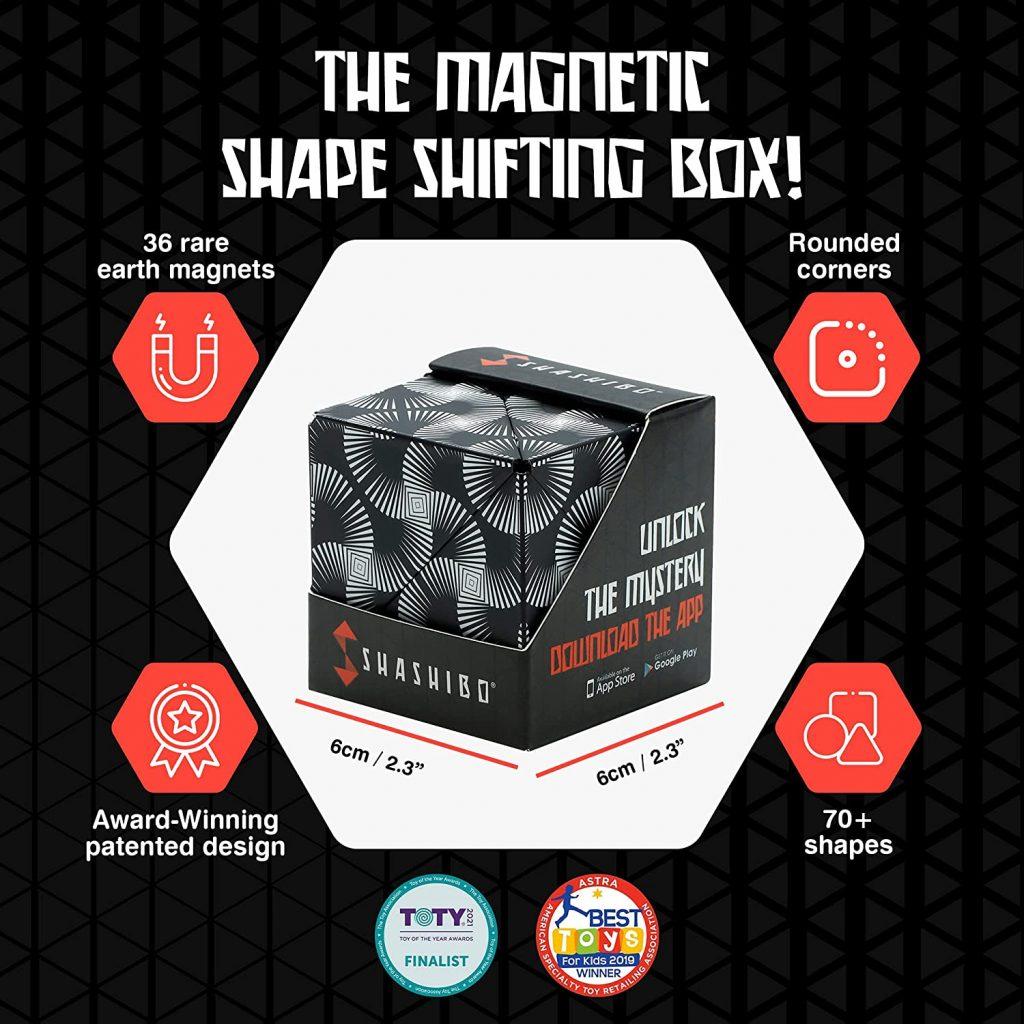 The magnetic shape shifting box