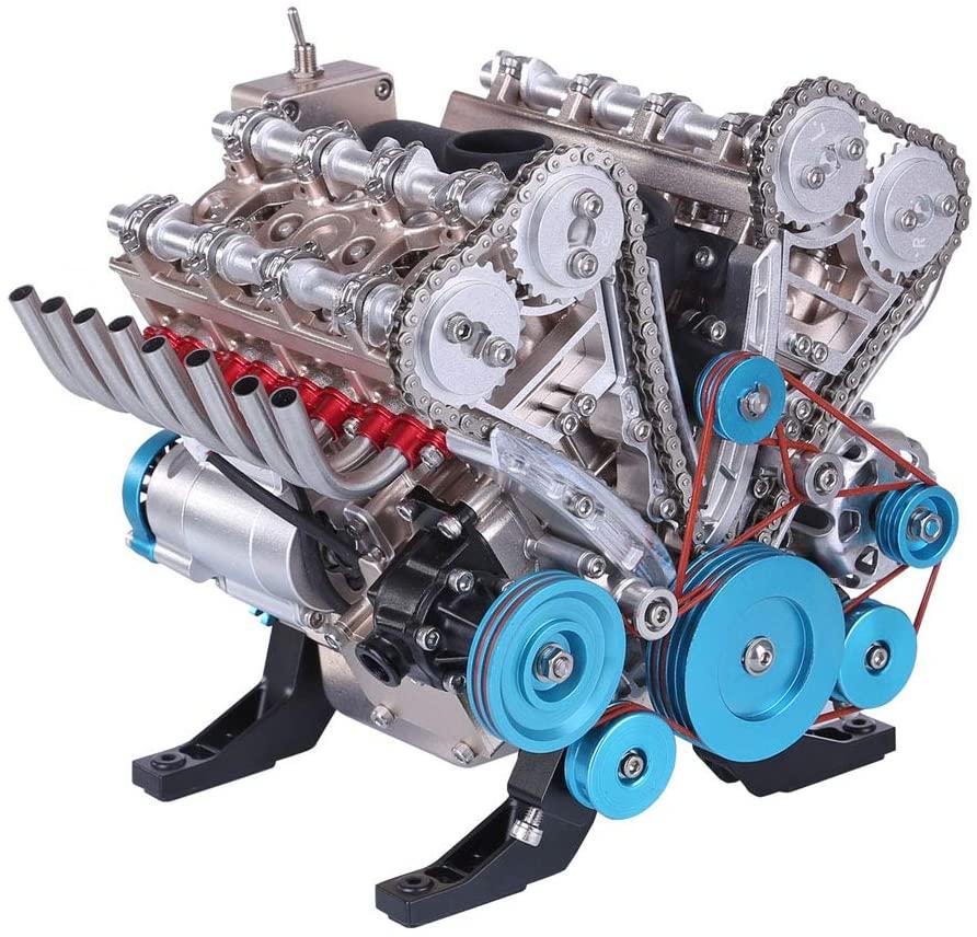 V8 Engine model