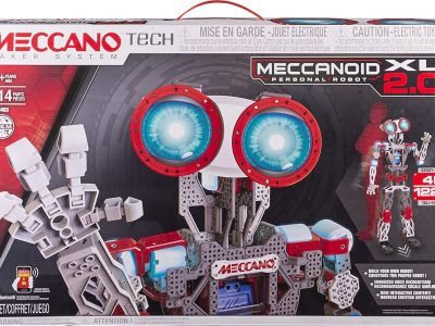 Erector by Meccano Meccanoid XL 2.0 The Best Robot Kit of 2021